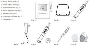 قطعات مختلف دستگاه پلاژن